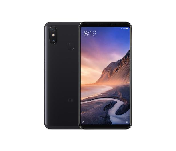 Xiaomi Mi Max 3 4/64GB Czarny - 460874 - zdjęcie