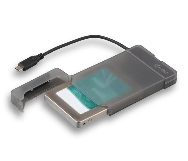 """i-tec Obudowa do dysku 2.5"""" MySafe (USB-C, czarny) - 460614 - zdjęcie"""
