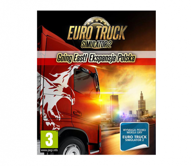 PC Euro Truck Simulator 2 - Going East ESD Steam - 465842 - zdjęcie