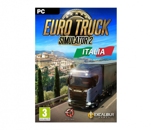 PC Euro Truck Simulator 2: Italia ESD Steam - 465845 - zdjęcie