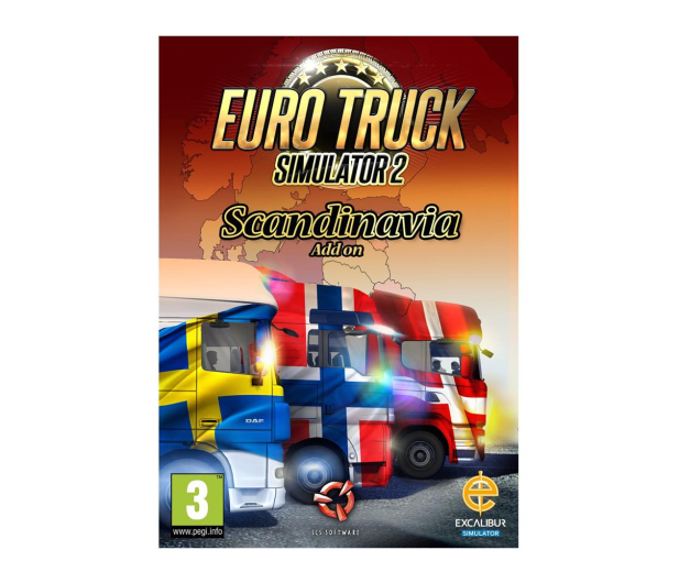 PC Euro Truck Simulator 2: Scandinavia ESD Steam - 465849 - zdjęcie
