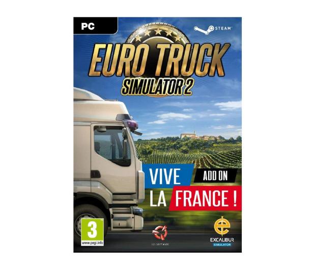 PC Euro Truck Simulator 2: Vive la France! ESD Steam - 465852 - zdjęcie