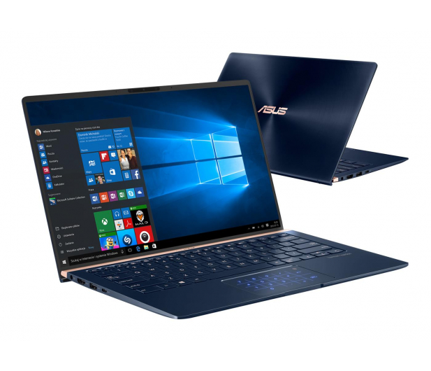 ASUS ZenBook UX333FA i5-8265U/8GB/512/Win10 - 490544 - zdjęcie