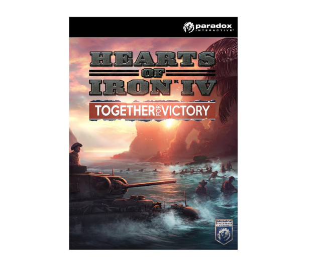 Paradox Development Studio Hearts of Iron IV: Together for Victory ESD Steam - 466344 - zdjęcie