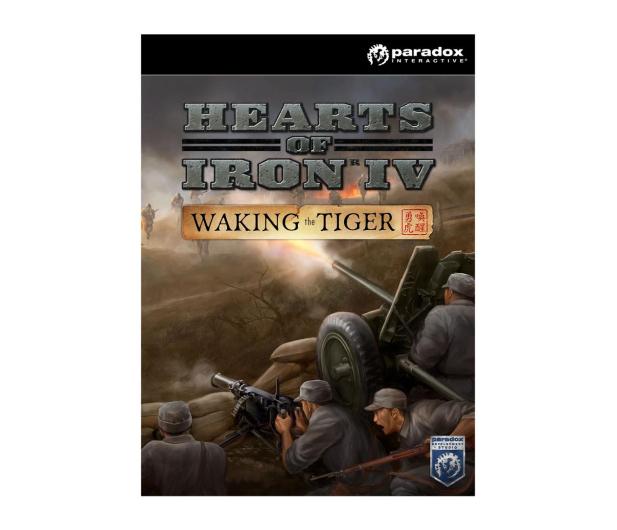 Paradox Development Studio Hearts of Iron IV: Waking the Tiger ESD Steam - 466346 - zdjęcie