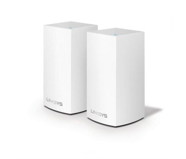 Linksys Velop Mesh WiFi (1300Mb/s a/b/g/n/ac) zestaw 2szt. - 468273 - zdjęcie