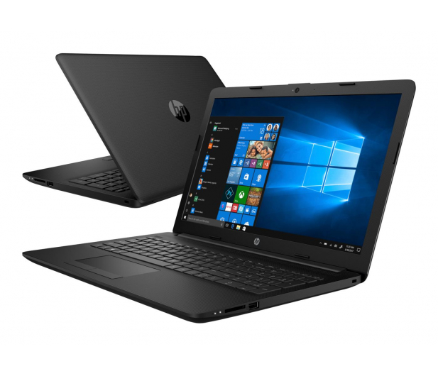 HP 15 A6-9220/8GB/120/Win10 Black  - 498299 - zdjęcie