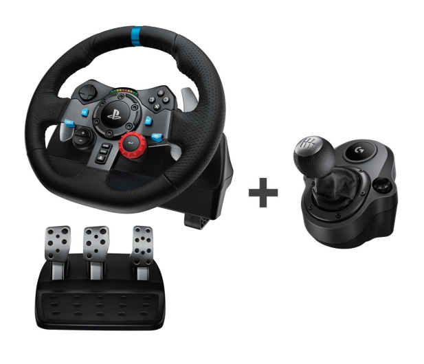 Logitech G29 PS4/PC + Driving Force Shifter - 468276 - zdjęcie
