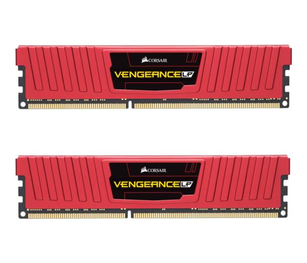 Corsair 16GB 1600MHz Vengeance LP Red CL10 (2x8GB)  - 468345 - zdjęcie