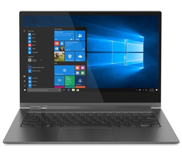 Lenovo YOGA C930-13 i7-8550U/8GB/512/Win10 Szary - 488100 - zdjęcie 2