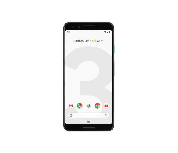 Google Pixel 3 128GB Clearly White  - 466659 - zdjęcie 2