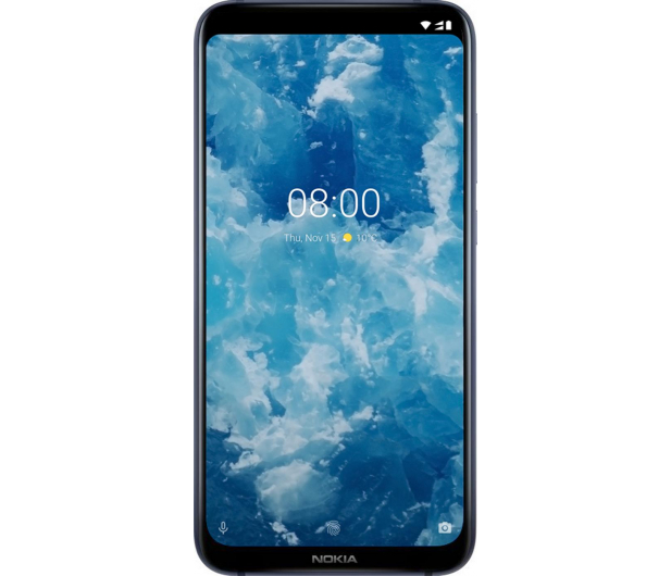 Nokia 8.1 Dual SIM Granatowy - 468477 - zdjęcie 2