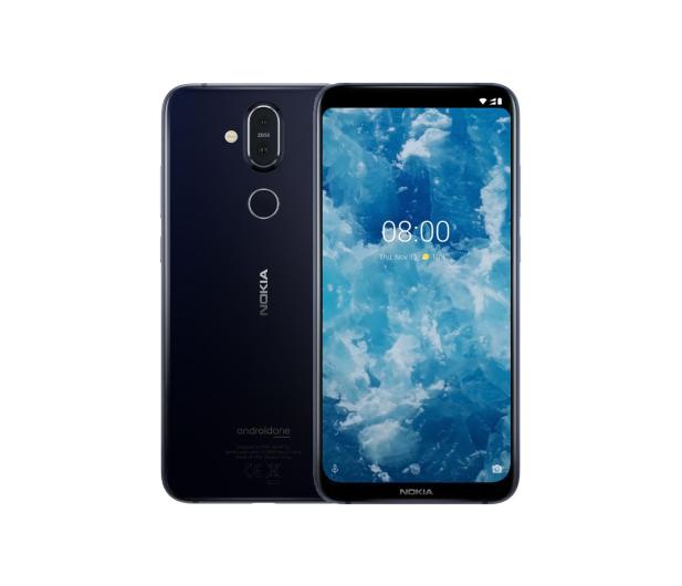 Nokia 8.1 Dual SIM Granatowy - 468477 - zdjęcie