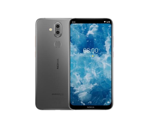 Nokia 8.1 Dual SIM Srebrny - 468479 - zdjęcie