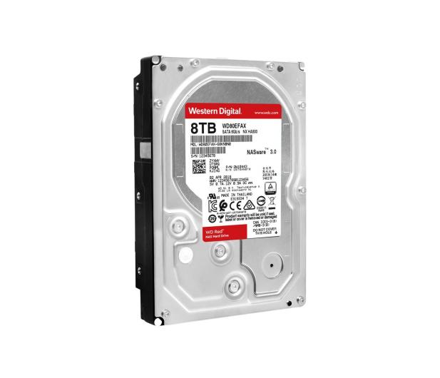 WD RED 8TB 5400obr. 256MB  - 429345 - zdjęcie 3