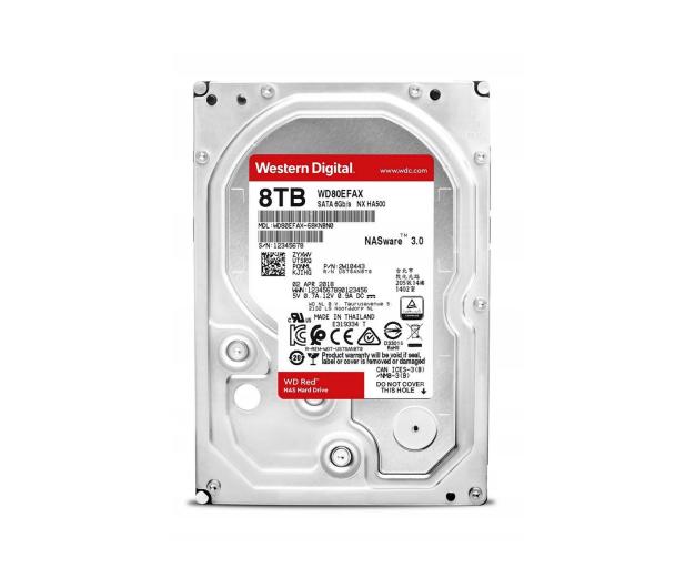 WD RED 8TB 5400obr. 256MB  - 429345 - zdjęcie