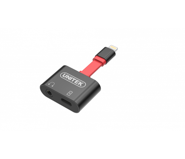 Unitek Splitter Lightning - Lightning, Minijack 3,5 mm - 460160 - zdjęcie 3