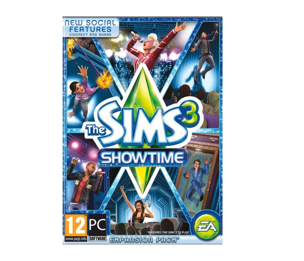 PC The Sims 3: Showtime ESD Origin - 469296 - zdjęcie