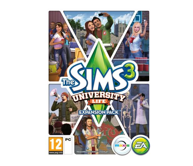 EA The Sims 3: University Life ESD Origin - 469298 - zdjęcie