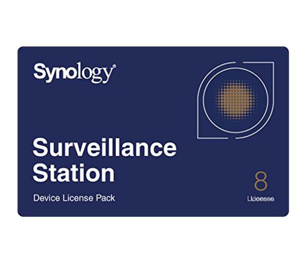 Synology Licencja Camera License Pack (8 dodatkowych kamer) - 223021 - zdjęcie
