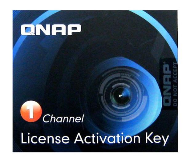 QNAP Licencja Camera License Pack (1 dodatkowa kamera) - 346540 - zdjęcie