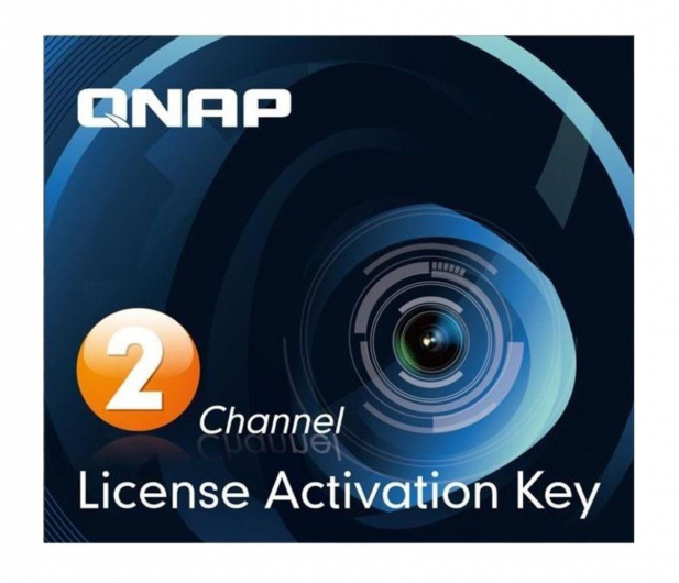 QNAP Licencja Camera License Pack (2 dodatkowe kamery) - 346541 - zdjęcie