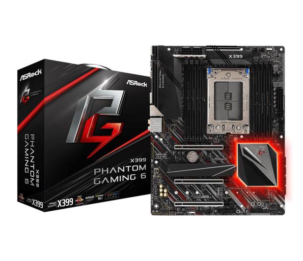 ASRock X399 Phantom Gaming 6 - 380341 - zdjęcie