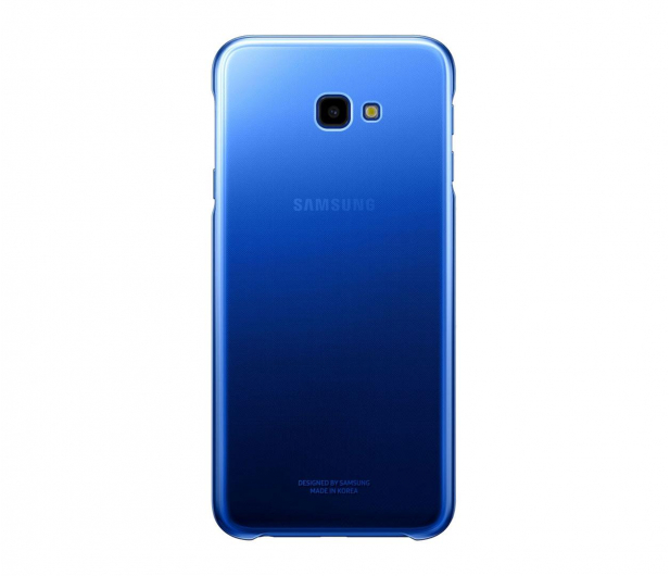 Samsung Gradation cover do Galaxy J4+ niebieskie  - 469283 - zdjęcie