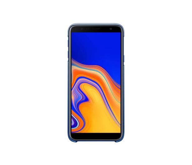 Samsung Gradation cover do Galaxy J4+ niebieskie  - 469283 - zdjęcie 2