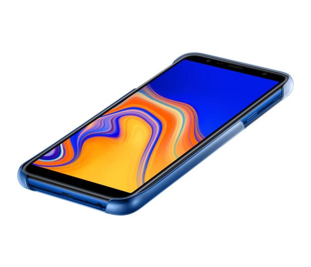 Samsung Gradation cover do Galaxy J4+ niebieskie  - 469283 - zdjęcie 4