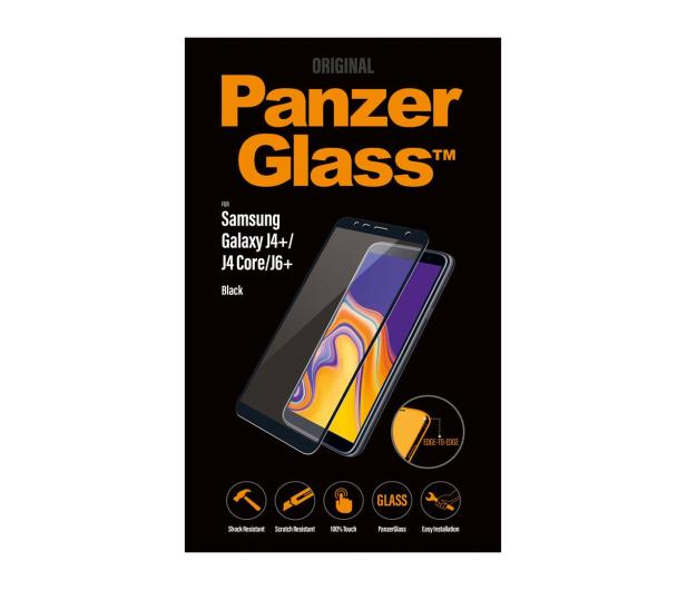 PanzerGlass Szkło Edge do Samsung Galaxy J4+/J6+ Black - 468886 - zdjęcie