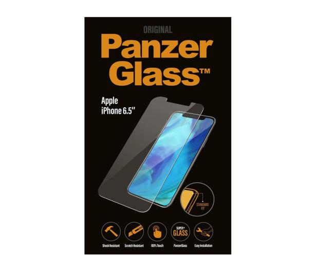 PanzerGlass Szkło Standard Fit do iPhone Xs Max - 449807 - zdjęcie