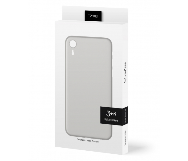 3mk Natural Case do iPhone Xr White - 468729 - zdjęcie