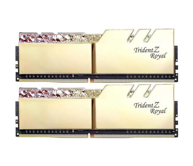 G.SKILL 16GB (2x8GB) 3200MHz CL14 TridentZ Royal Gold  - 470214 - zdjęcie