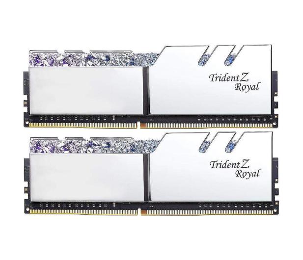 G.SKILL 16GB (2x8GB) 3200MHz CL16 TridentZ Royal Silver - 470226 - zdjęcie