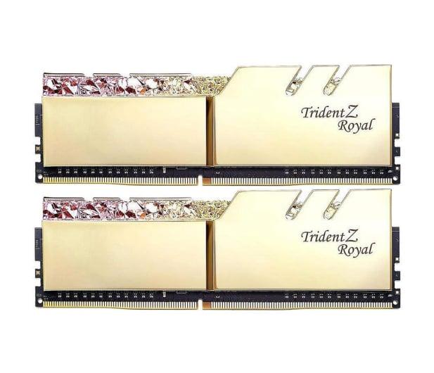 G.SKILL 16GB (2x8GB) 3600MHz CL18  TridentZ Royal Gold  - 470230 - zdjęcie