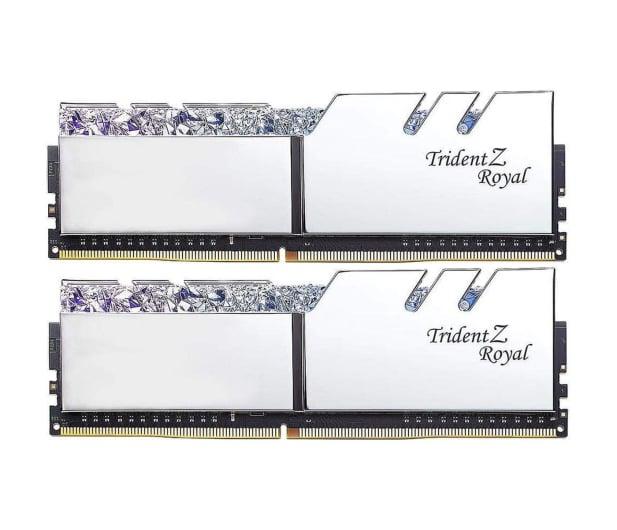 G.SKILL 16GB (2x8GB) 3600MHz CL18 TridentZ Royal Silver - 470232 - zdjęcie