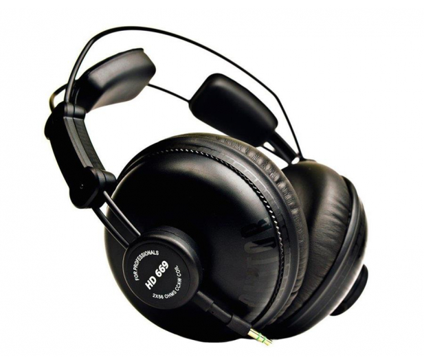 Superlux HD669 czarne - 253117 - zdjęcie