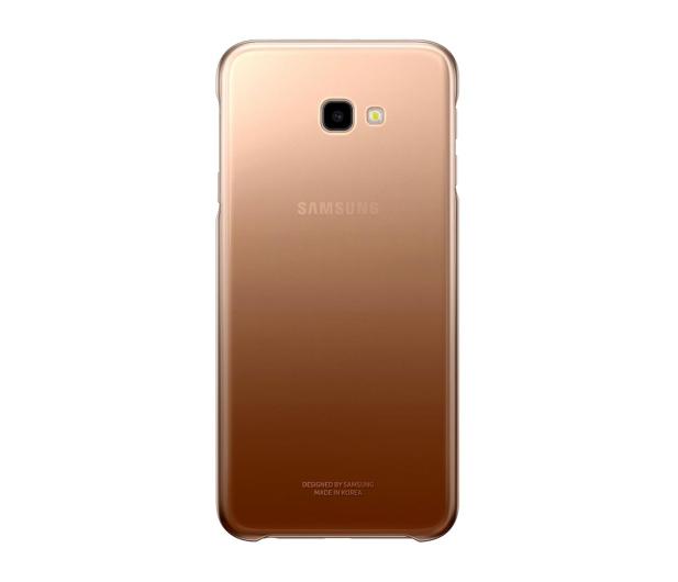 Samsung Gradation cover do Galaxy J4+ złote - 467549 - zdjęcie
