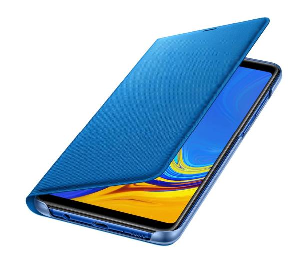 Samsung Wallet Cover do Samsung Galaxy A9 niebieskie - 465626 - zdjęcie