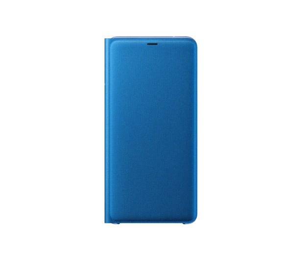 Samsung Wallet Cover do Samsung Galaxy A9 niebieskie - 465626 - zdjęcie 2