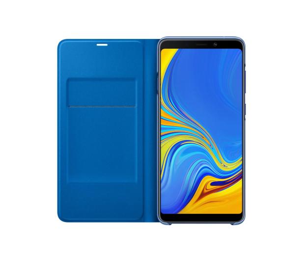 Samsung Wallet Cover do Samsung Galaxy A9 niebieskie - 465626 - zdjęcie 4