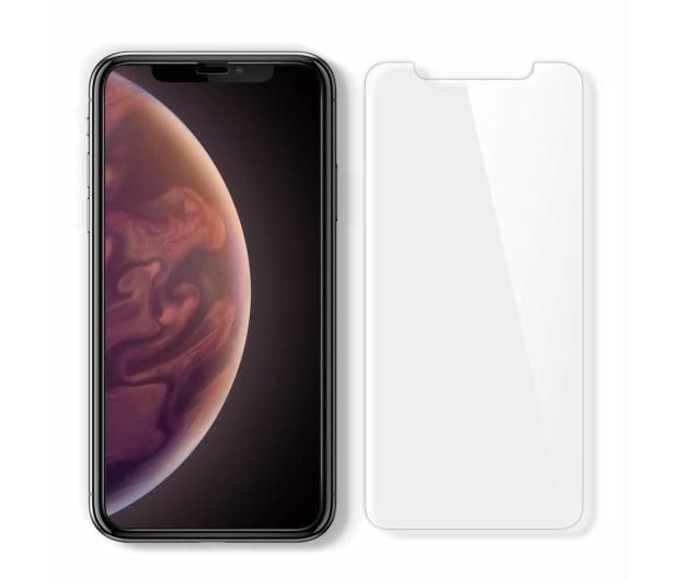 Spigen Szkło GLAS.TR EZ FIT do iPhone Xs + Aplikator  - 463553 - zdjęcie 2