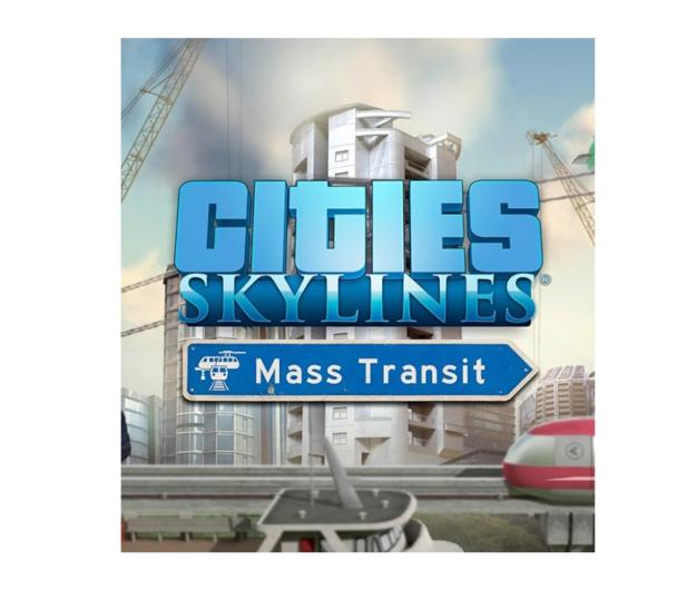 Paradox Interactive Cities: Skylines - Mass Transit ESD - 464737 - zdjęcie