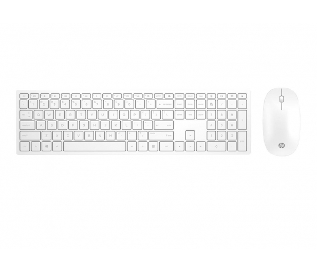 HP Pavilion Wireless Keyboard & Mouse 800 (biały)  - 462662 - zdjęcie