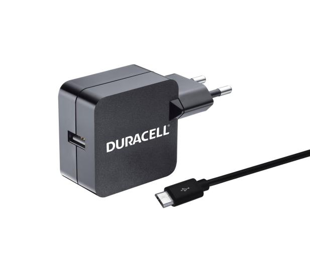 Duracell Ładowarka sieciowa USB 2,4A + kabel microUSB 1m - 408447 - zdjęcie