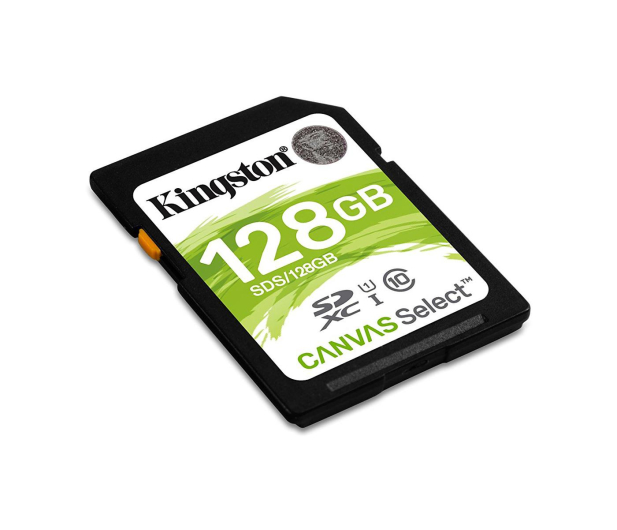 Kingston 128GB SDXC Canvas Select 80MB/s C10 UHS-I U1  - 408974 - zdjęcie 2