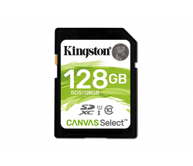 Kingston 128GB SDXC Canvas Select 80MB/s C10 UHS-I U1  - 408974 - zdjęcie