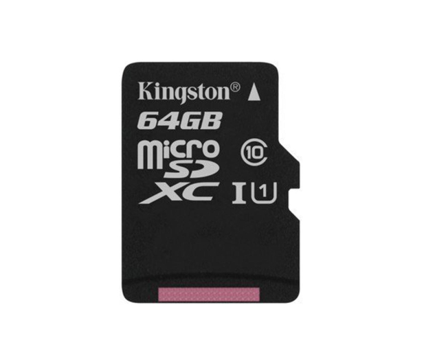 Kingston 64GB microSDXC Canvas Select 80MB/s C10 UHS-I  - 408959 - zdjęcie