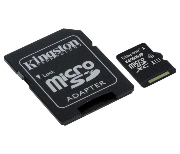 Kingston 128GB microSDXC Canvas Select 80MB/s C10 UHS-I - 408960 - zdjęcie 3
